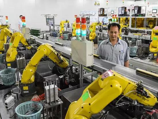 劳动力5年减少2000万,倒逼产业升级
