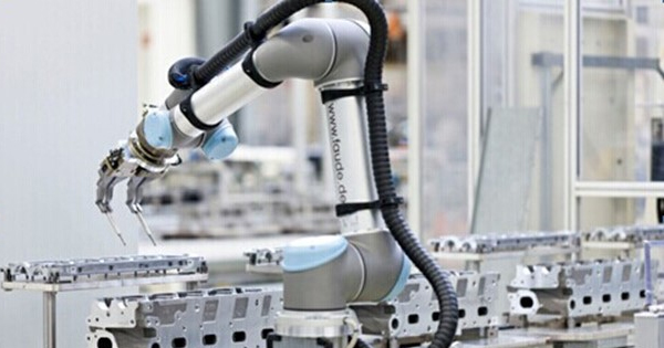 中国制造业机器人采用率迅速增长